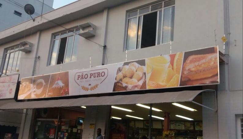 Fachada padaria Pão Puro