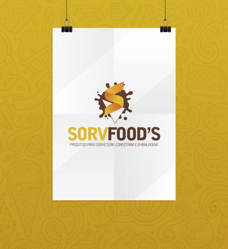 Identidade Visual Sorvfood's