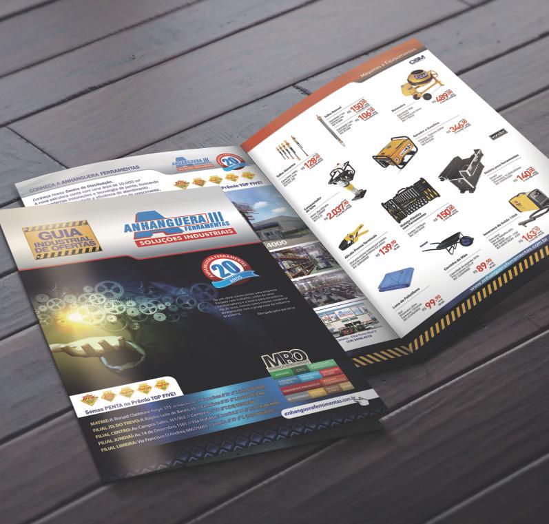 Catálogo de produtos Anhanguera Ferramebtas