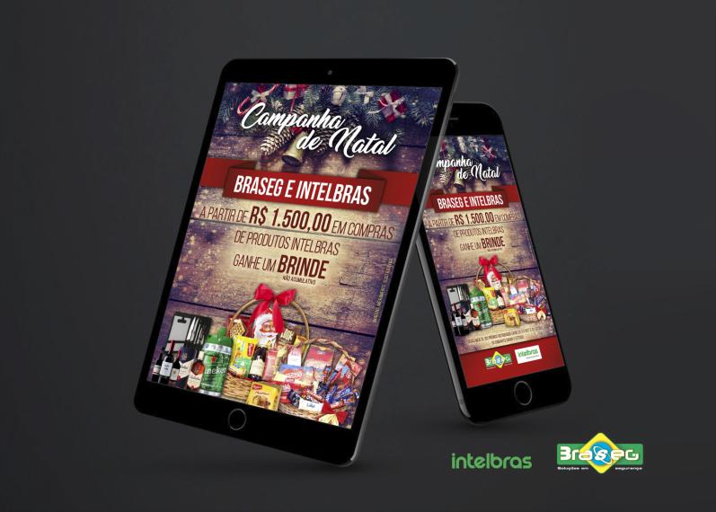 E-mail marketing promoção de Natal Braseg